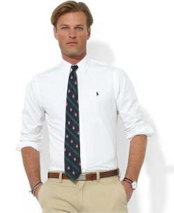 Polo Ralph Lauren  - Core Custom Fit Broadcloath Dress Shirt
