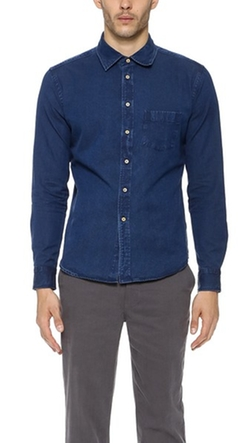 Brooklyn Tailors - Indigo Denim Shirt