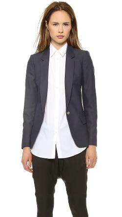 Acne Studios  - Single Button Suiting Blazer