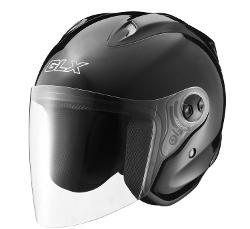 GLX Helmets - Open Face Motorcycle Helmet