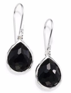 Ippolita - Black Onyx & Sterling Silver Earrings