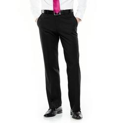 Haggar - Flat-Front Herringbone Dress Pants