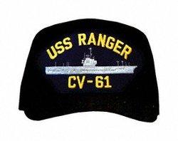 MilitaryBest - USS Ranger CV-61 Ships Ball Cap