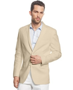 INC International Concepts  - Smith Linen Blend Blazer