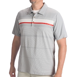 Adidas - Golf Adizero Printed Stripe Polo Shirt