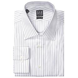 Ike Behar  - Black Label Stripe Dress Shirt