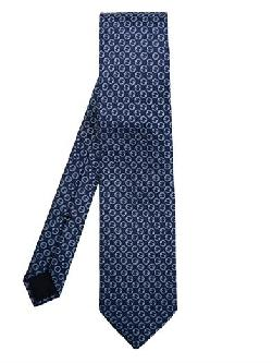 GUCCI  - Logo-print silk tie