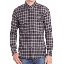 Belstaff - Samuel Cotton Flannel Check Shirt