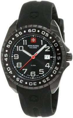 Swiss Military Calibre  - Rotating Bezel Rubber Watch