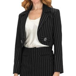 Scully - Contemporary Western Pinstripe Bolero Jacket