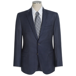 David Donahue  - Wool Ryan Stripe Suit