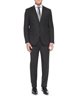 Boss Hugo Boss  - Tonal-Stripe Travel Suit
