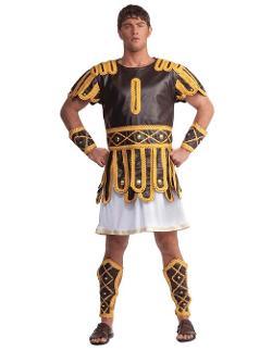 Disc0untst0re  - Roman Emperor Mens Costume