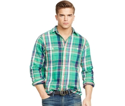 Polo Ralph Lauren - Plaid Twill Workshirt