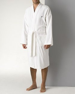 Polo Ralph Lauren - Kimono Cotton Velour Robe