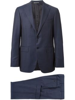 Canali  - Striped Notch Lapel Suit