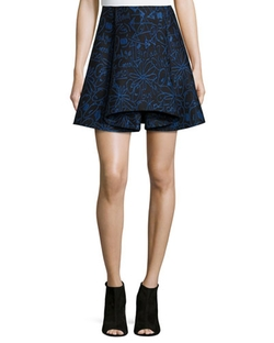 Opening Ceremony - Scribbles Jacquard Skirt