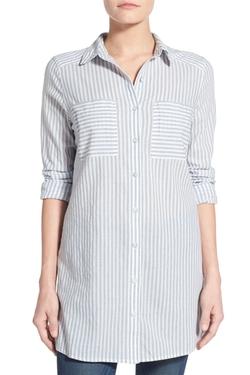 Caslon  - Cotton Tunic Shirt