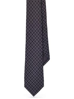Black Label  - Plaid Wool Tie