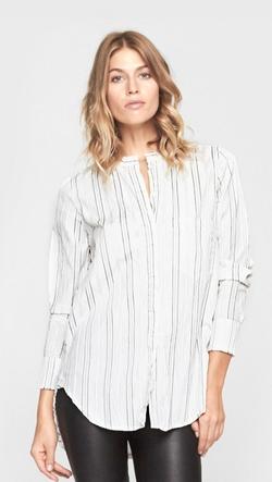 Raquel Allegra  - Stripe Button Down Shirt