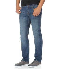 Aeropostale - Slim Straight Medium Wash Jean