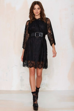 Nasty Gal - Midnight Hour Lace Dress