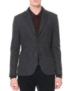 Lanvin  - Small-Houndstooth Soft Jacket