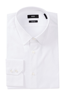 Hugo Boss  - Enzo Regular Fit Solid Dress Shirt