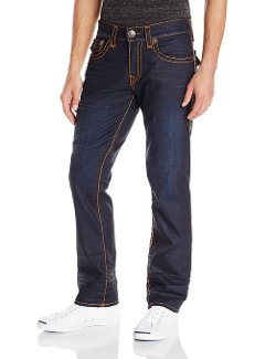 True Religion - Flap Petrol Blue Super T Jean