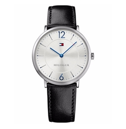 Tommy Hilfiger - Sophisticated Sport Leather Strap Watch