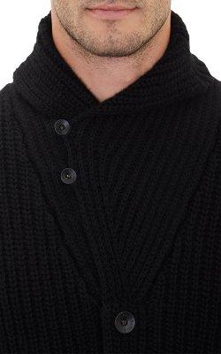 Ralph Lauren Black Label  - Shawl-Collar Cardigan