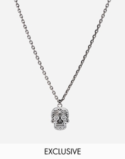 Asos - Simon Carter Sugar Skull Necklace