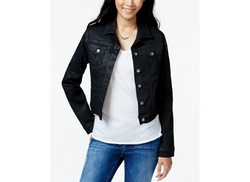 Jessica Simpson  - Pixie Wax-Treated Denim Jacket