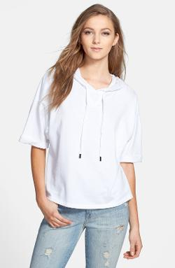Stateside  - Short Sleeve Fleece Hoodie