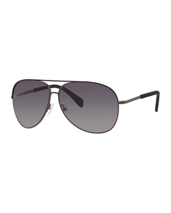 MARC by Marc Jacobs	  - Polarized Aviator Sunglasses