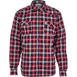 River Island - Red Bellfield Check Flannel Shirt