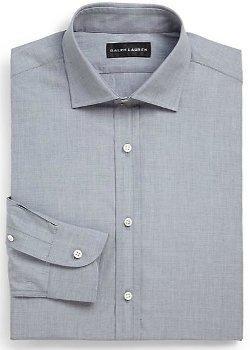 Ralph Lauren Black Label  - Microcheck Gingham Dress Shirt