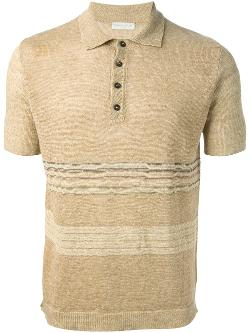 ROBERTO COLLINA - fine knit polo shirt