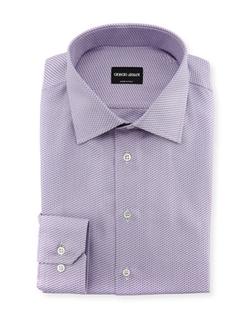 Giorgio Armani - Textured Neat Dress Shirt