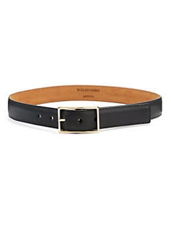 W. Kleinberg  - Matte Leather Belt