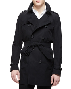 Burberry London	 - The Kensington - Mid-Length Heritage Trench Coat