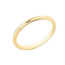 Classic Wedding Bands  - Comfort-Fit Band Traditional Wedding Ring