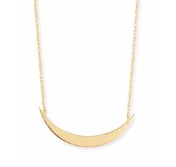 Jennifer Zeuner - Skylar Horizontal Moon Layered Necklace