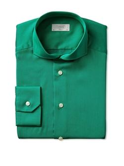 Eton Of Sweden  - Slim Fit Twill Dress Shirt