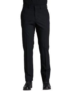 Armani Collezioni  - Flat-Front Dress Pants