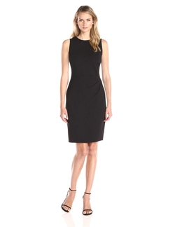 Maggy London - Solid Ponte Sheath Dress