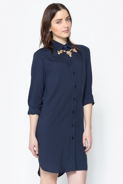 Shoptiques - Button Shirt Dress