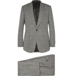 Kingsman   - Single-Breasted Prince Of Wales Check Suit