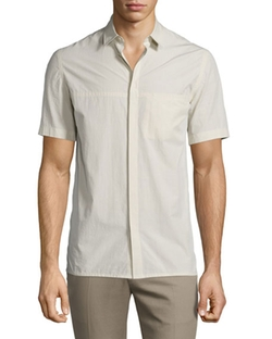Helmut Lang  - Short-Sleeve Button-Down Shirt
