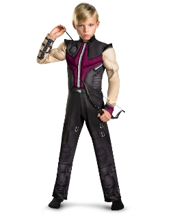 Spirit Holloween - Avengers Hawkeye Muscle Child Costume